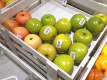 Een appel stock foto