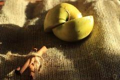 Een appel Stock Foto's