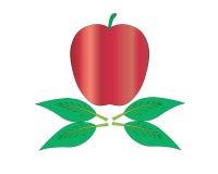 Een appel Royalty-vrije Stock Foto's