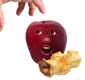 Een appel een Dag stock foto