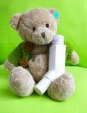 Een astmatische beer Stock Foto's
