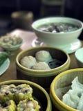 In een Aziatisch restaurant kambodja royalty-vrije stock foto