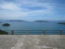 Een baai in Angra-Dos Reis - Brazilië stock fotografie