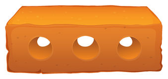 Een baksteen Stock Afbeelding