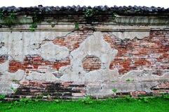 Een bakstenen muur. Royalty-vrije Stock Foto's