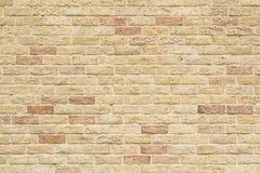 Een bakstenen muur Stock Foto