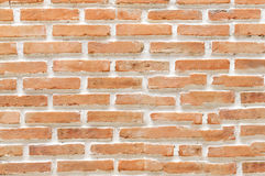 Een bakstenen muurbakstenen muur Royalty-vrije Stock Foto