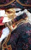 Een barok masker in Venetië Stock Afbeelding