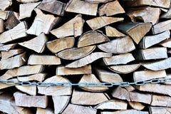 Een Beeld van brandhout, energie, biomassa Royalty-vrije Stock Fotografie