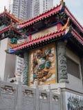 Een beeld van de Wong Tai Sin-tempel in Hong Kong royalty-vrije stock fotografie