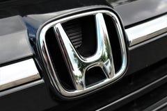 Een Beeld van een Honda-embleem - Bielefeld/Duitsland - 07/23/2017 Royalty-vrije Stock Afbeelding