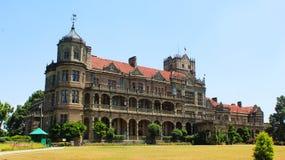 Een beeld van viceregal loge of Indisch instituut van vooruitgangsstudies in shimla stock afbeeldingen