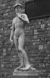 een beeldhouwwerk in Florence Royalty-vrije Stock Afbeeldingen