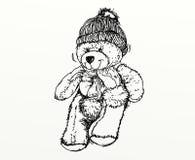 Een beer met een GLB stock illustratie
