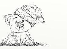 Een beer met een GLB royalty-vrije illustratie