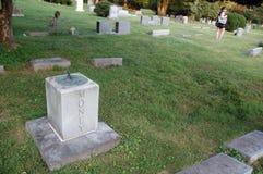 Een begraafplaats in Virginia Royalty-vrije Stock Afbeeldingen