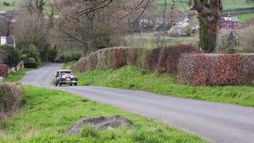 Een 1934 Bentley 3 5 in Cumbria, Engeland stock video