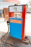 Een benzinepost in Vientiane, Laos Royalty-vrije Stock Fotografie