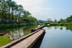 Een beroemd park in Taiwan stock fotografie