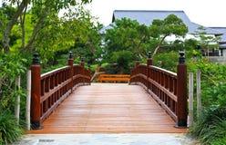Een beroemde traditionele Japanse tuin Royalty-vrije Stock Afbeelding