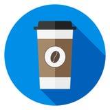 Een beschikbare kop van koffie Royalty-vrije Stock Foto's