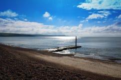 Een bewolkte Dag in Dorset Stock Foto
