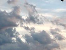 Een Bewolkte Dag in Noord-Carolina royalty-vrije stock afbeelding