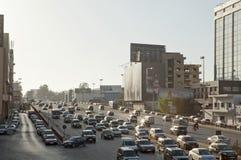 Een bezige weg in Libanon royalty-vrije stock afbeelding