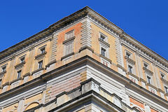 Een bezoek bij Villa Farnese in het Italiaans Palazzo Farnese, een massieve Renaissance en Mannerist Royalty-vrije Stock Foto's