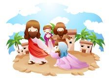 Een bijbelse uitdrukking Stock Fotografie