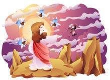 Een bijbelse uitdrukking Royalty-vrije Stock Foto