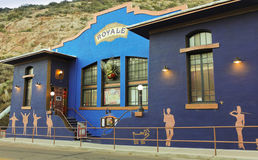 Een Bisbee Royale Theatre Shot, Bisbee, Arizona Royalty-vrije Stock Fotografie