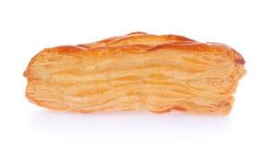 Een bladerdeegpastei met kaas Stock Foto