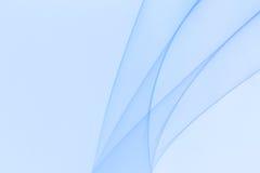 Een blauw behang met lijnen het toenemen Stock Afbeelding