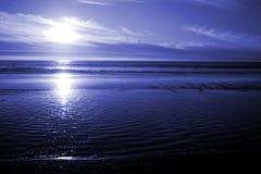 Een blauwe Overzees - Oceaan royalty-vrije stock foto's