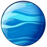 Een blauwe planeet Royalty-vrije Stock Foto's