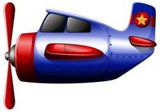 Een blauwe propeller Stock Afbeeldingen