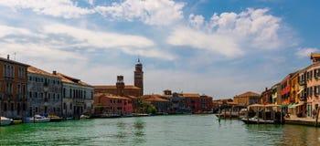Een blik in Murano stock fotografie