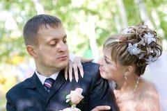 Een blik van liefde Stock Fotografie