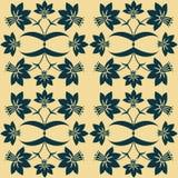 Een bloemen naadloos patroon. Royalty-vrije Stock Afbeelding