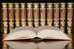 Een boek Royalty-vrije Stock Afbeeldingen