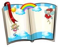 Een Boek vector illustratie