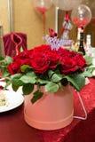 Een boeket van bloemen voor mijn moeder De inschrijving op het boeket is aan mijn geliefde moeder royalty-vrije stock foto