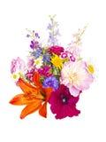 Een boeket van de zomerbloemen Stock Afbeelding