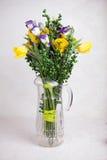 Een boeket van gele rozen royalty-vrije stock foto's