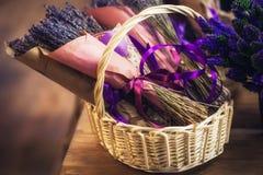 Een boeket van lavendel royalty-vrije stock afbeeldingen