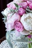 Een boeket van rozenpioenen Royalty-vrije Stock Foto
