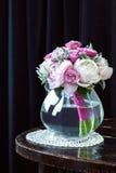 Een boeket van rozenpioenen Royalty-vrije Stock Afbeeldingen
