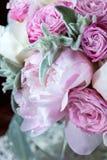 Een boeket van rozenpioenen Royalty-vrije Stock Fotografie