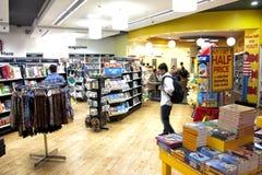 Een boekhandel bij de T3 Terminal, IGIA Royalty-vrije Stock Afbeelding